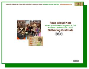 2008-2012 Kere Gathering gratitude