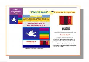 Parihaka Power to Peace