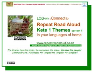 Multi Lingual Kete 2 Theme Repeat Read Aloud